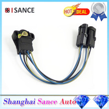 ISANCE Throttle Position Sensor TPS 33003390 33004648 53003425 33004650 TH67 For Jeep Cherokee Comanche Wagoneer 1987- 1990