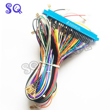 Jamma Harness with 5 6 action button wires Jamma 28 pin with 5 6 buttons wires for arcade game machine cabinet accessories