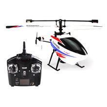 WLV911-2  4CH 2.4GHz Gyroscope Single Blades RC Helicopter With Radio Remote Control , V911 V911-1  Upgraded Version