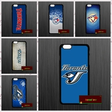 Baseball Toronto Blue Jays Logo Phone Cases Cover For iPhone 4 4S 5 5S 5C SE 6 6S 7 Plus 4.7 5.5    AM0175