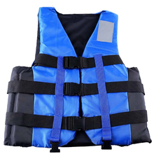Professional Adult Life Vest Life Jacket Swimming Drifting Snorkeling Fishing Wear Buoyancy with Whistle Pool Accessories(China)