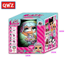 QWZ LOL Surprise Dolls Toys Models Baby Funny Toys Girl Gifts Random Dolls Kids Christmas Gifts(China)