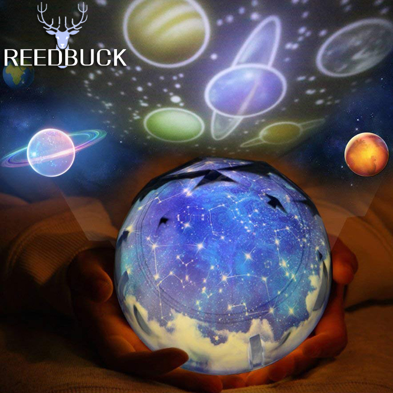 LED Star Master Night Lights Starry Sky Magic Planet Projector Lamp Cosmos Universe Luminaria Baby Nursery Holiday Birthday Gift (2)