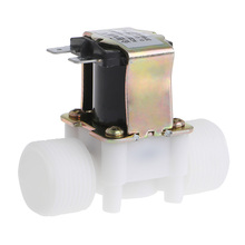 "3/4"" AC 220V PP N/C Electric Solenoid Valve Water Control Diverter Device"