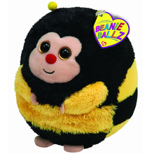"Ty Beanie Ballz 15"" 38cm Zips Bee Plush Large Stuffed Animal Collectible Soft Big Eyes Doll Toy"