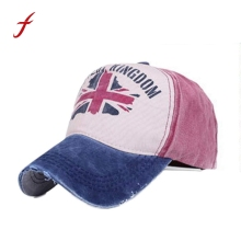 Newly Design Unisex Retro UK Flag Baseball Cap Casual best Snapback Hats 160316(China)