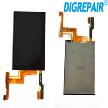 100% Tested Black For HTC One M8 LCD Display touch screen digitizer Full Assembly Replacement Parts, free shipping+tracking No