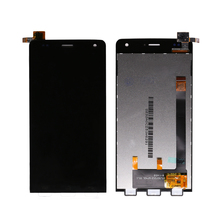 "2pcs/lot Smartphone Parts LCD for Wiko Gateway LCD Assembly Display with Touch Screen Digitizer Sensor Panel 5"" Free Shipping(China)"