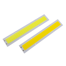 Buy COB LED DC12V-14V Panel Strip Light Chip 10W Lamp Bulb Car Light Source Warm White Pure White Car Spotlight Floor Lighting for $2.53 in AliExpress store