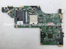 For HP pavilion DV6 DV6-3000 laptop motherboard integrated 595135-001 DA0LX8MB6D1  send one AMD CPU as a gift. stock No.999