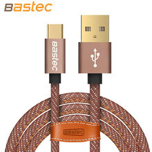 Type-C Cable ,Bastec Denim Wire USB C Gold-plated Plug Fast Charging USB Type C Cable for MacBook / Xiaomi 4C / Letv / Oneplus