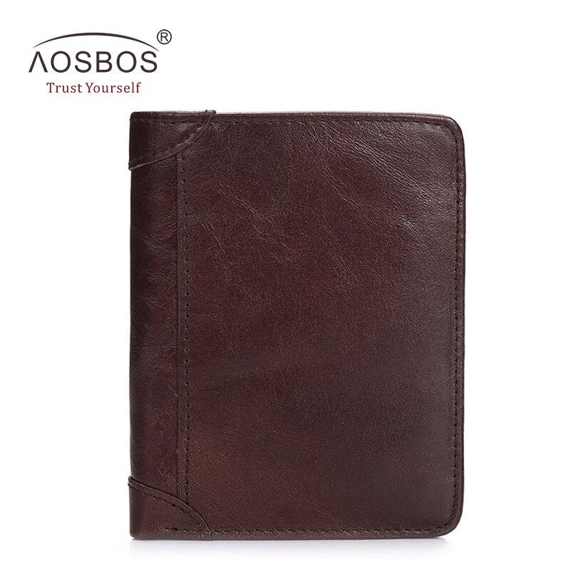 Slim Vintage Brand top Quality Designer genuine leather wallet luxury men fold short Cowhide card wallets with coin pocket<br><br>Aliexpress