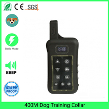Training Collar for dogs Electric Shock+Light+Sound  OF Command Dog Training Device Pet dog Trainer Remote Control 400M