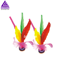 4 pcs Kick Feather Shuttlecocks  Badminton Big Size 22CM Original China Jianzi