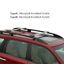 Car Roof Rack Cross Bar Anti-Theft Low Wind Noise for Toyato RVA4 /VW Tiguan /Ford kuga /Mazda CX-5 /Lexus RX(China)