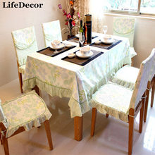 Leaves table cloth table cloth fabric tablecloth fashion dining table cloth chair cover cushion dining chair set cushion 1