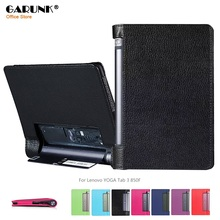 Case for Lenovo YOGA Tab 3 850F, GARUNK Matte Litchi PU Leather Flip Folio Cover for Lenovo YOGA Tablet 3 850f Accessories