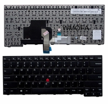 US Black New English Replace laptop keyboard For IBM For Thinkpad E450 E455 E450C T450 W450 With pointing sticks