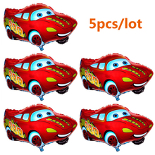 Wholesale! 5pcs/lot 65*49cm Cartoon Car Balloon for Birthday Party Decoration Boy Children Inflatable Air Balloon Kids Gift