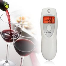 Portable LCD Backlight Alcohol Breath Analyzer Detector Breathalyzer Professional Police Digital Alcohol Breath Tester Meter(China)