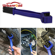 Chain Motorcycle Cleaner Cycle Bicycle Chain Brush Cleaning Tool Bike Maintenance Cleaning Brush For Honda Yamaha KTM Kawasaki