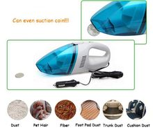 Super Suction Portable Handheld Mini Car Vacuum Cleaner 4000Pa Wet and Dry Aspirador Dual-use 75W Car Vacuum Cleaner