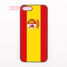 hard cover case For Samsung Galaxy J1 J2 J3 J5 J7 A3 A5 A7 On5 On7 On8 2016 A8 E5 E7 Grand 2 cases spain National flag symbols(China)