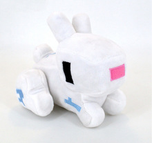 Newest 14cm Minecraft Game Plush Toys Minecraft Rabbit Stuffed Plush Toys Minecraft Cartoon Game Toys Soft Toy for Kids Gifts