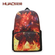 New 2017 Designer Backpack for Women And Men Cute Graffiti Print Unisex School Bags Designers Book Bag Bolsas HQQXS