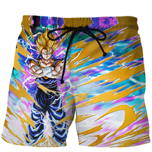 Summer Casual 3D Beach Shorts Men Funny Dragon Ball Z 3D Printing Mens Board Shorts Brand Quick Dry Shorts Homme Boardshorts Men