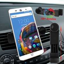 360 Rotation Car Air Vent Case Mount Holder for Wileyfox Swift 2 Plus / Swift 2 / Wileyfox Storm Spark+ Spark X Phone Trestle