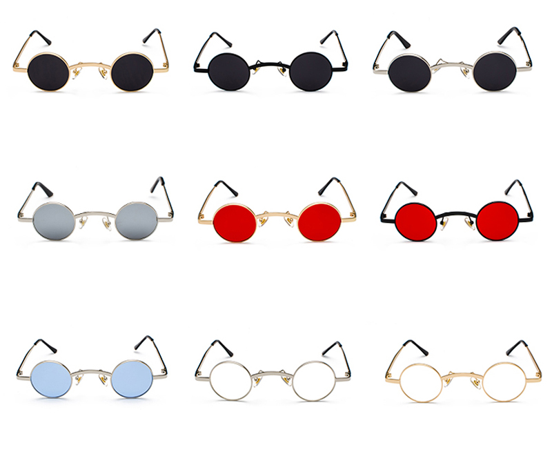 mini sunglasses round 6022 details (2)