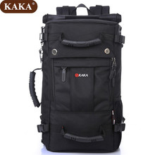 "KAKA Hot Sale 50L Military Army Backpack Camouflage Pack Men17""Laptop Backpacks High Quality Oxford School Bag D520(China)"
