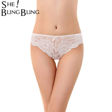 Buy SheBlingBling Women's Panties Underwear Sexy Lace Underpants Seamless Panties Briefs Woman Pants Knickers High Quality