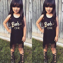 Baby Girl Summer Clothing Sleeveless Dresses Girl Dress