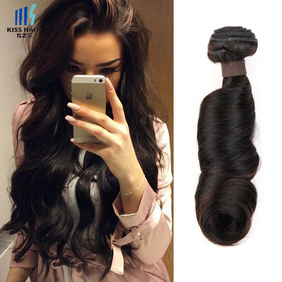 Funmi Hair Romance Curl 2 Bundles 8A Unprocessed Raw Virgin Indian Remy Human Hair Weave Bundles Kiss Hair Fashion Fummi Hair<br><br>Aliexpress