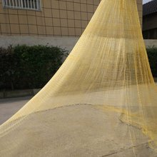 2.2m 600 Mesh Machine Woven Nylon Hand Cast Fishing Net Foldable Baits Trap Cast Dip Net Crab Shrimp for Outdoor Fishing(China)