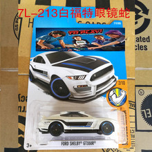 New Arrivals 2017 Hot Wheels FORD SHEIBY GT350R Metal Diecast Cars Collection Kids Toys Vehicle For Children