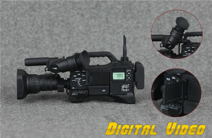 "ZY Toys 1//6 Digital Video DV Microphone Set For 12/"" Action Figure Accessories"