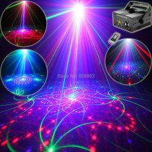 Eshiny 500Mw RGB 5 Lens 80 Patterns Laser Projector Blue Led Club Home Party Bar DJ Holiday Disco Xmas Dance Lighting Light T67