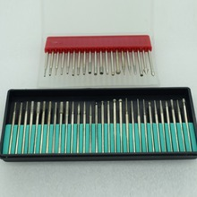 Free shipping Dental Diamond Burs Millers Tooth Drill Jewelers goldsmith 50pcs/set(China)