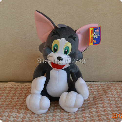 Tom and Jerry Soft Plush Toy,High Quality Stuffed Dolls,Cartoon Animal Plush Toys,Classic Toys for Children 30cm<br><br>Aliexpress