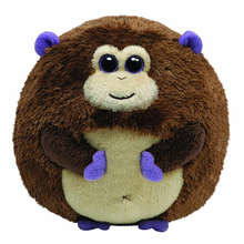 "Ty Beanie Ballz 15"" 38cm Bananas the Monkey Plush Large Stuffed Animal Collectible Soft Big Eyes Doll Toy"