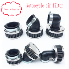 28/32/35/38/40/42/45/48/50/52/54/58/60mm Air Filter Motorcycle ATV Scooter Pit Bike Air Cleaner Intake Filter For Honda Yamaha(China)