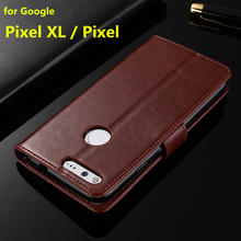 For Google Pixel XL card holder cover case for HTC Google Pixel leather phone case ultra thin wallet flip cover