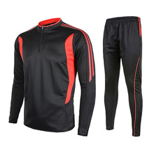 Autumn winter new long-slee craw football training suit sports Soccer jersey & Soccer pants men tracksuit Sportswear
