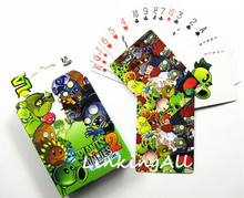 54 pcs/pack Anime Plants vs Zombies/One Piece Collection Poker Cards Playing Cards Cosplay Board Game Cards With Box