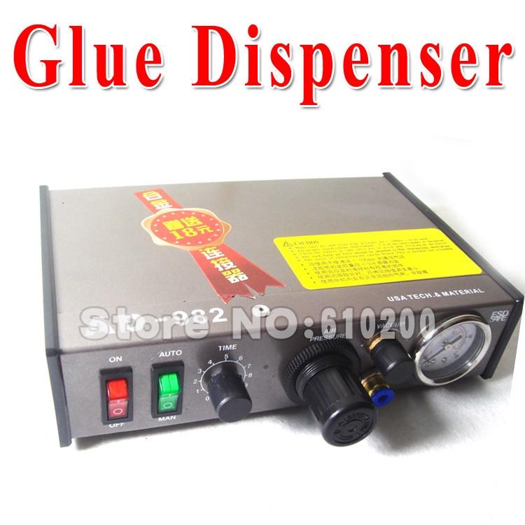high-precision Semi-Automatic Glue Dispenser PCB Solder Paste Liquid Controller Dropper Fluid dispenser<br>