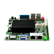 Dual Lan celeron J1800 dual core Fanless Mini Pc nano motherboard Q1800G2-P 1*COM vending machine 12*12cm 10W Low Power DC(China)