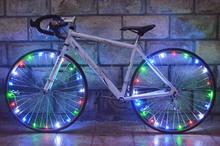 20 LED Bicycle Lights Mountain Bike Light Cycling Spoke Wheel Lamp Bike Accessories Luces Led Bicicleta Bisiklet Aksesuar